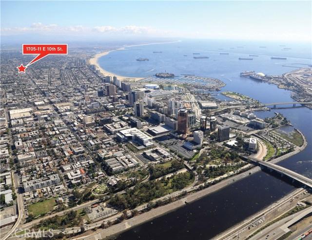 Apartamento por un Venta en 1705 E 10th Street Long Beach, California 90813 Estados Unidos