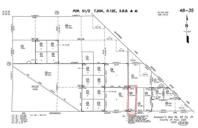 0 Quartz Road Unincorporated, CA 89011 - MLS #: SW17261274