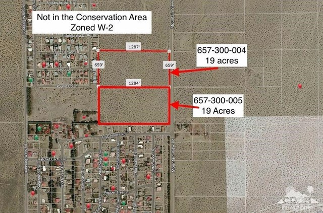 Land for Sale at 19 To 38 Acres Mountainview 19 To 38 Acres Mountainview Desert Hot Springs, California 92240 United States