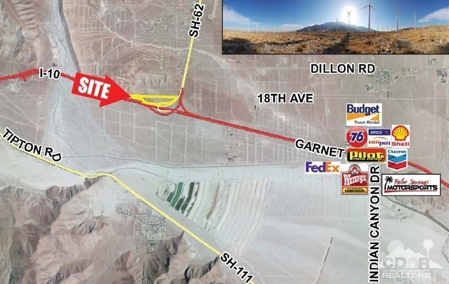 Land for Sale at 40.89 Ac Interstate 10/Hwy 62 40.89 Ac Interstate 10/Hwy 62 Whitewater, California 92262 United States