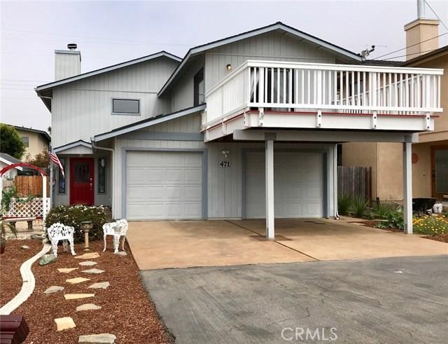 471  La Jolla Street, Morro Bay in San Luis Obispo County, CA 93442 Home for Sale