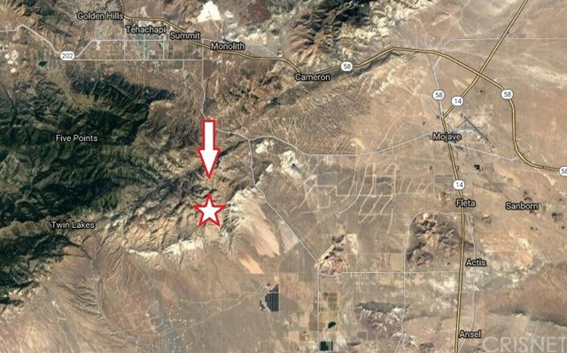 Single Family for Sale at 0 0 Mojave, California 93501 United States