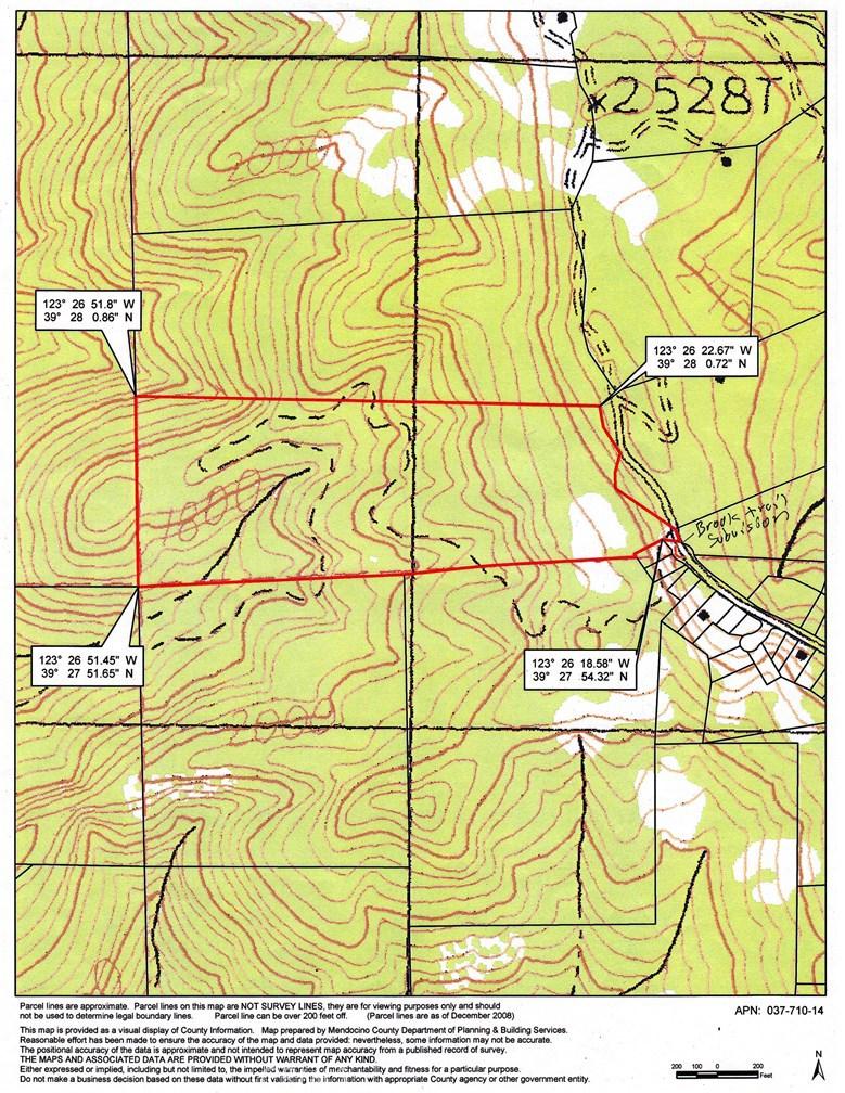 PARCEL 64 SPRING CREEK, Willits, CA 95490