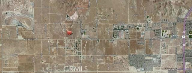 土地 为 销售 在 60 St. West & Rosamond Boulevard Rosamond, 美国