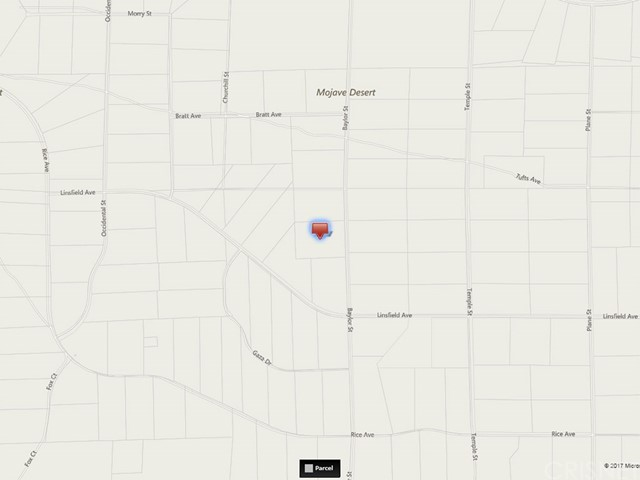 0 Tufts Ave. and Baylor Street California City, CA 0 - MLS #: SR17232981