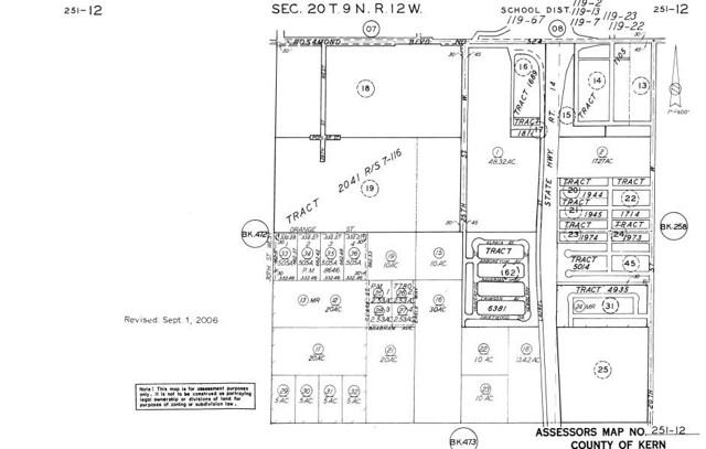 0 Vl Clark St/E. Ash Ave Rosamond, CA 93560 - MLS #: SR18016129