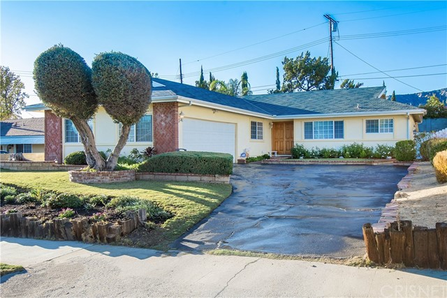 Great family home in the Sylmar area with 4-Bedrooms and 2-Baths with over 1760 Square Feet.  Larger sized lot with nice yard and patio area.  Home features updated Kitchen, Baths, and Flooring.