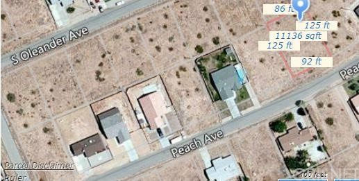 Property for sale at 0 Peach Avenue, California City,  CA 93505