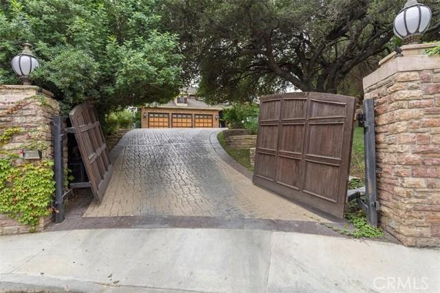 Maison unifamiliale pour l Vente à 3805 Davids Road 3805 Davids Road Agoura Hills, Californie 91301 États-Unis