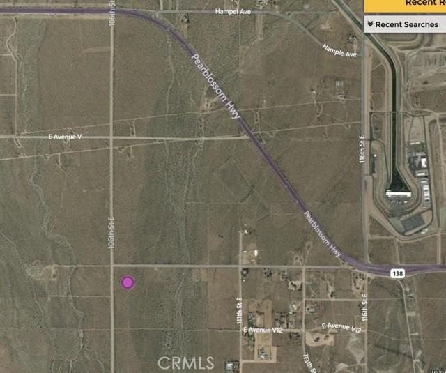 0 Vac/Cor Avenue V8 Pav /106th Pearblossom, CA 93553 - MLS #: SR18104903