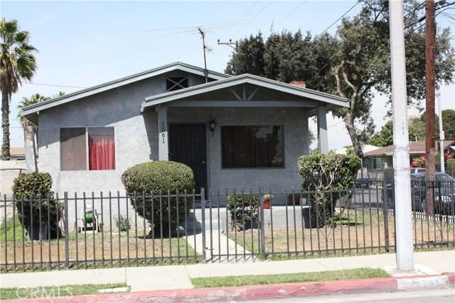 1561 E 75th Street  Los Angeles CA 90001