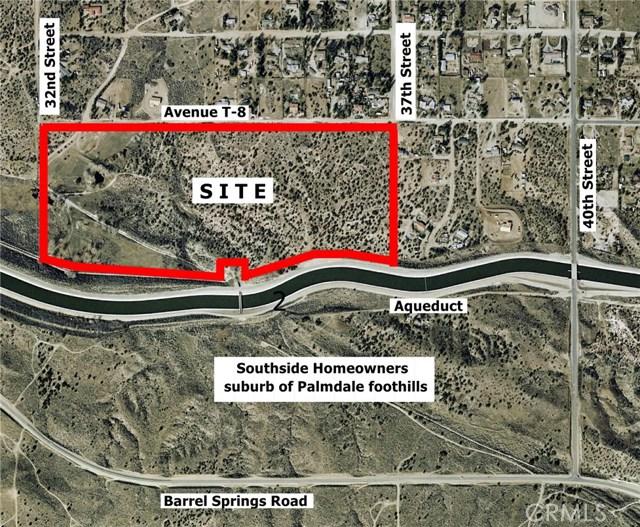 0 37th/T-8 Palmdale, CA 93550 - MLS #: SR17213845