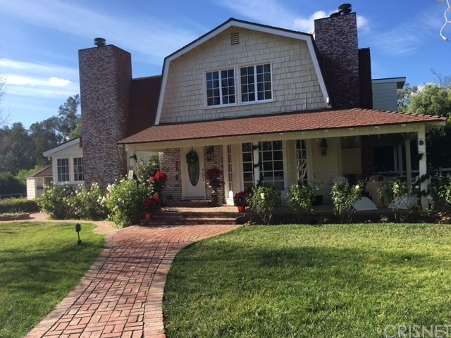 Single Family Home for Sale at 7855 Old Balcom Canyon Road Somis, California 93066 United States