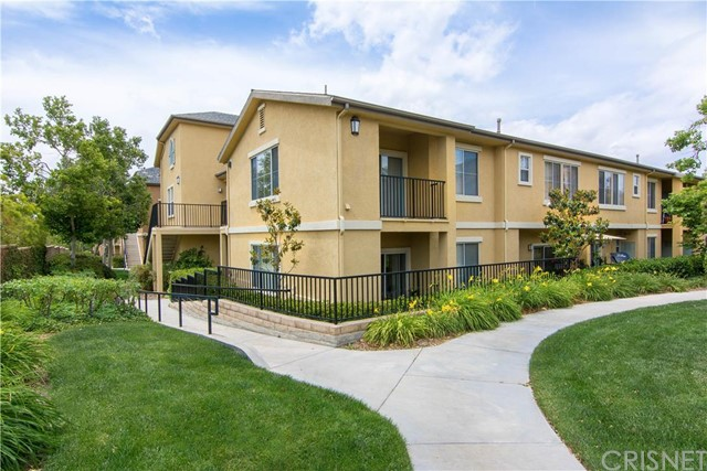Highly sought after Upper, Corner, 1-Bedroom Condo in a desirable gated community of the Plum Canyon area.  Enjoy nearby shopping, restaurants, schools.  Well planned Floor-Plan of a Family Room, Dining Area, Master Bedroom with larger walk-in closet, Private Balcony, and 1-Car Garage.  Homeowner's Association includes Pool, Spa, BBQ area, Gym, and Recreation/Exercise Room.