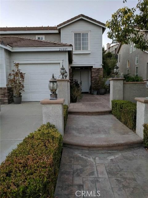 26089 Salinger Lane Stevenson Ranch, CA 91381 - MLS #: SR17239754