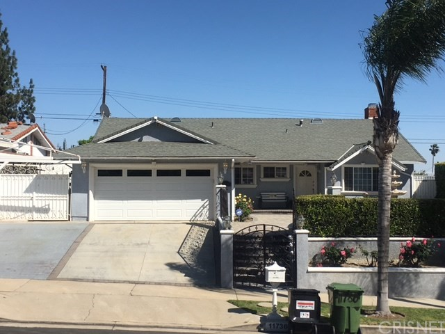 11736 Gerald Avenue Granada Hills, CA 91344 is listed for sale as MLS Listing SR17063648