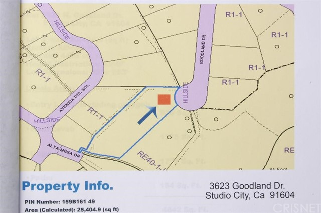 3623 Goodland Studio City, CA 0 - MLS #: SR17086563
