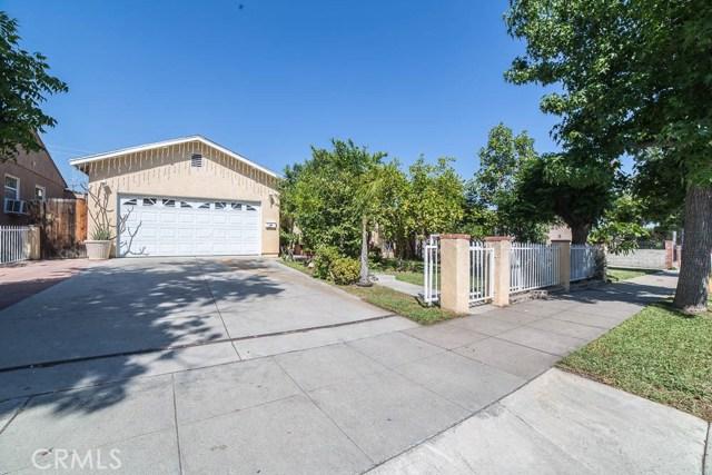 Single Family Home for Sale at 1959 Lucas Street San Fernando, California 91340 United States