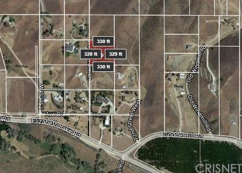 0 Vac/Valley View/Vic 74 Stw Palmdale, CA 93551 - MLS #: SR18023742