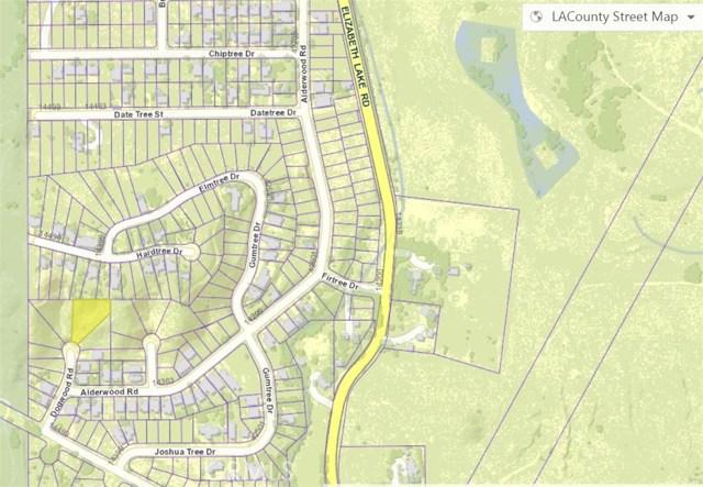 1 Vac/Dogwood Rd/Vic Alderwood Road Lake Elizabeth, CA 93532 - MLS #: SR18014919