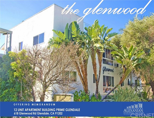 Residential Income for Sale at 618 Glenwood Road 618 Glenwood Road Glendale, California 91202 United States