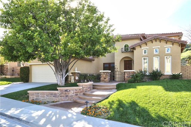 Single Family Home for Sale at 24901 Greensbrier Drive Stevenson Ranch, California 91381 United States