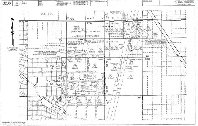 0 Vac/Ave G/Vic 125 Stw Antelope Acres, CA 93536 - MLS #: SR18103637