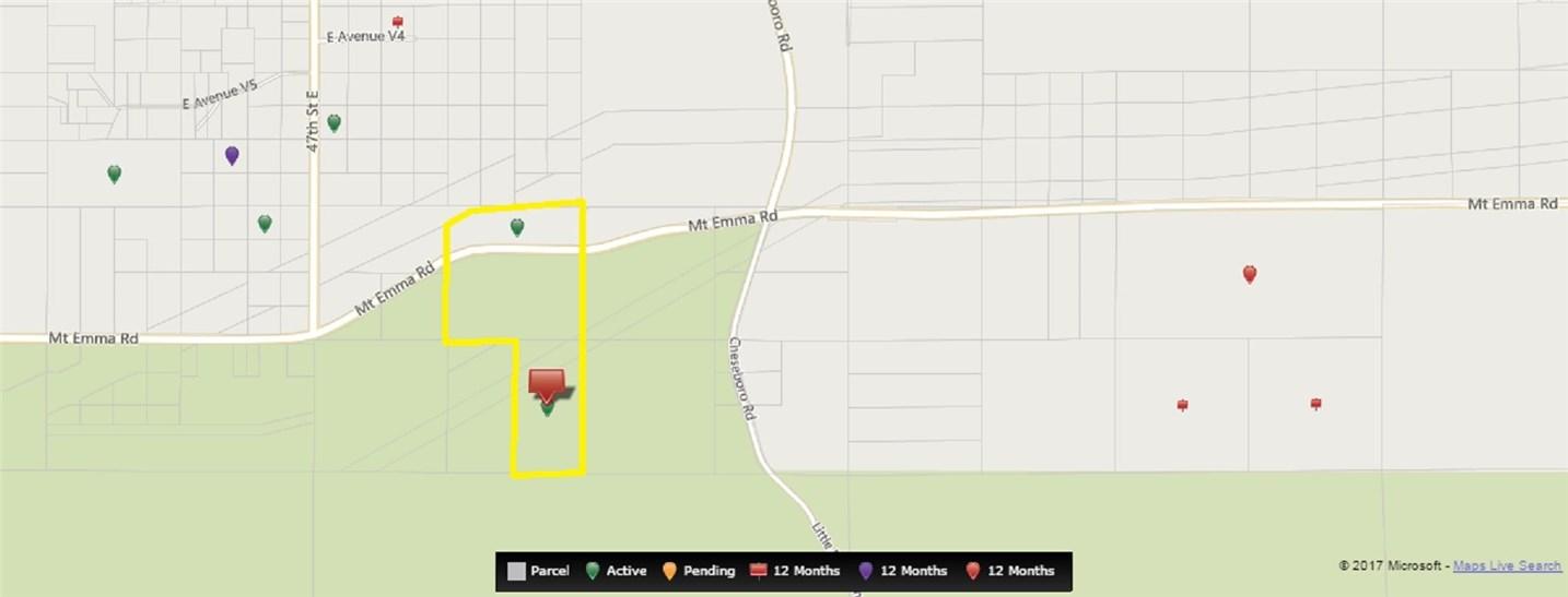 47 Street East + Mt Emma Road Palmdale, CA 93550 - MLS #: SR16144258