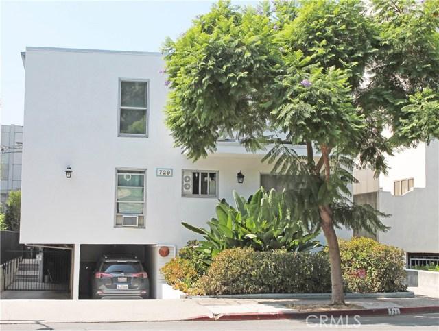 729 Huntley Drive # 5 West Hollywood, CA 90069 - MLS #: SR17205576