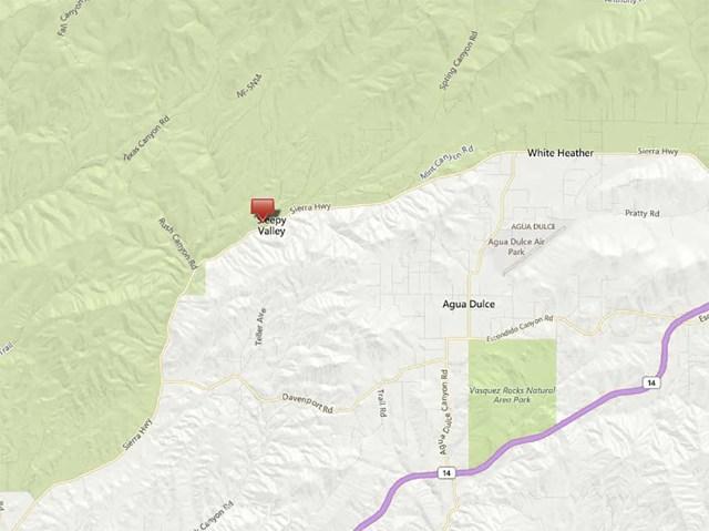 0 Spring St & Chrisco Street Sleepy Valley, CA 91350 - MLS #: SR16189755