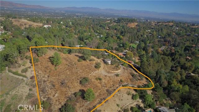 Land for Sale at 4631 Caritina Drive 4631 Caritina Drive Tarzana, California 91356 United States