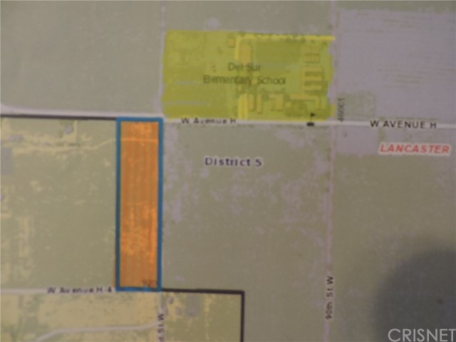 Land for Sale at 92 W Vac/Ave H/Vic 92 Stw 92 W Vac/Ave H/Vic 92 Stw Del Sur, California 93536 United States