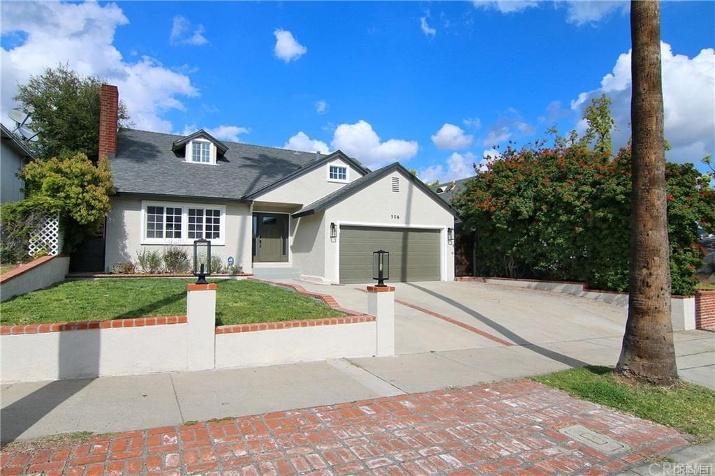 Photo of 506 NORTH BEL AIRE DRIVE, Burbank, CA 91501