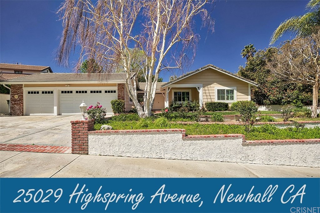 Property for sale at 25029 Highspring Avenue, Newhall,  CA 91321