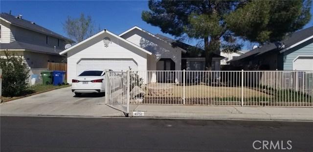 4751 Diamond Street Palmdale CA 93552