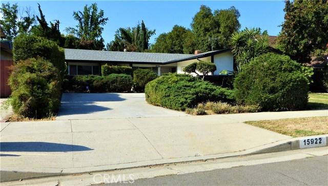 15922 Sunburst Street North Hills, CA 91343 - MLS #: SR18160987