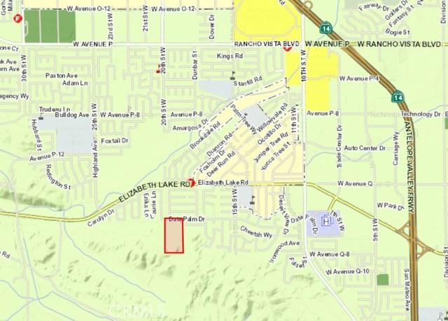 0 Vac/Cor 20th Stw/Date Palm Drive Palmdale, CA 93550 - MLS #: SR16735636