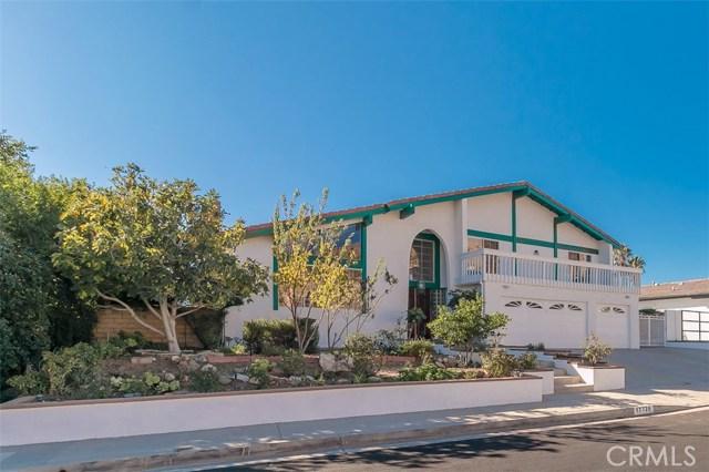 Single Family Home for Sale at 17728 Arvida Drive 17728 Arvida Drive Granada Hills, California 91344 United States