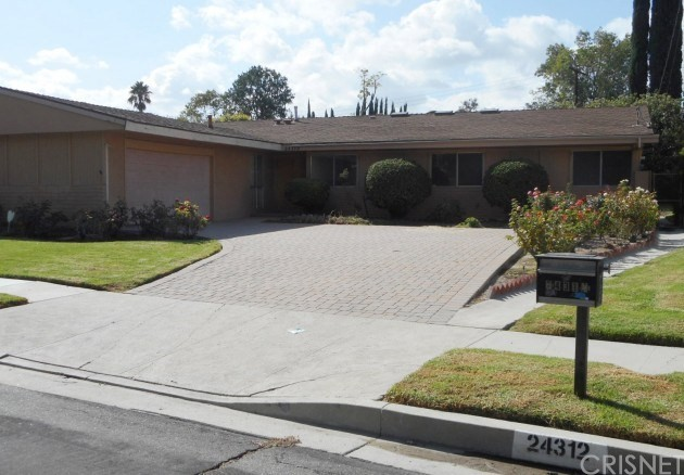Single Family Home for Sale at 24312 Philiprimm Street Woodland Hills, California 91367 United States