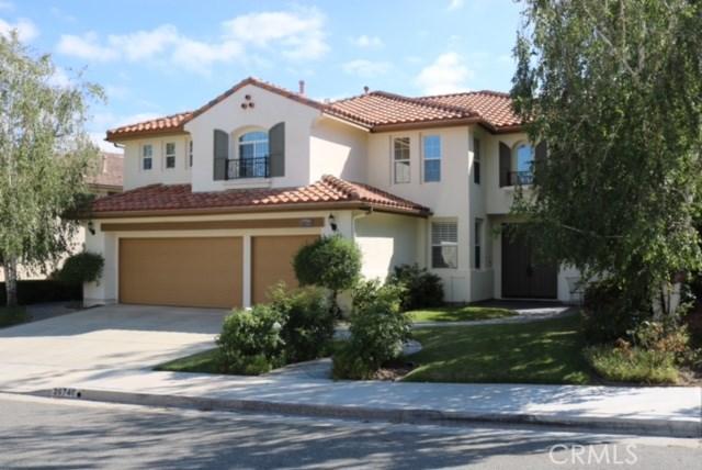 Single Family Home for Sale at 26746 Wyatt Lane Stevenson Ranch, California 91381 United States