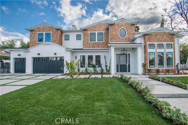 Single Family Home for Sale at 19348 Collier Street Tarzana, California 91356 United States