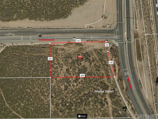 0 Sierra Hwy and Ave. P-8 (Technology Dr.) Palmdale, CA 93550 - MLS #: SR17087959