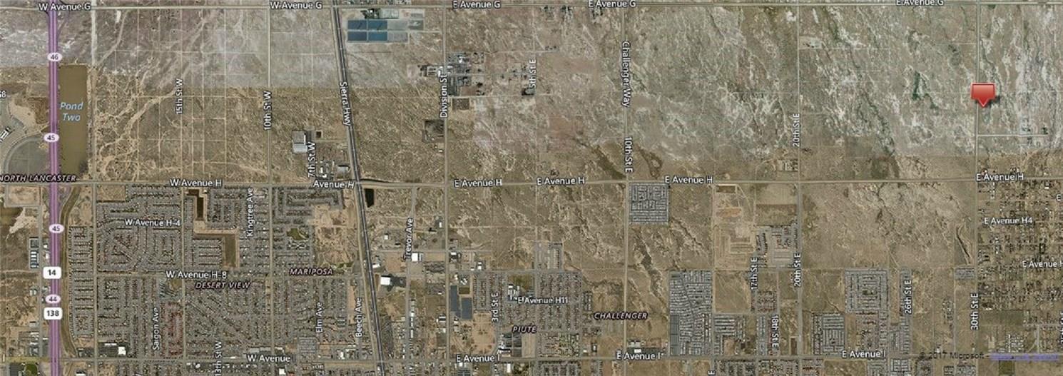 Terreno por un Venta en 30 Street East And G-10 Avenue Lancaster, California 93535 Estados Unidos