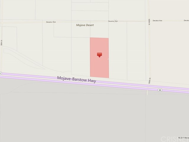 Land for Sale at 100 th Strest on Hwy 58 Mojave, United States