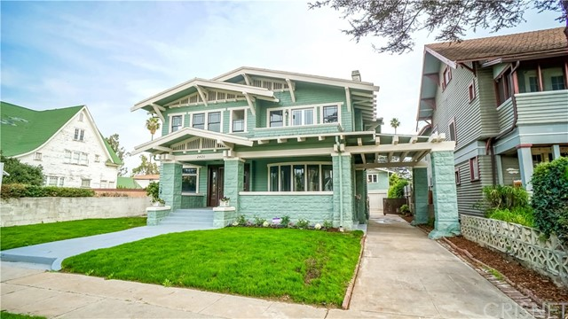 Single Family for Sale at 2420 7th Avenue Los Angeles, California 90018 United States