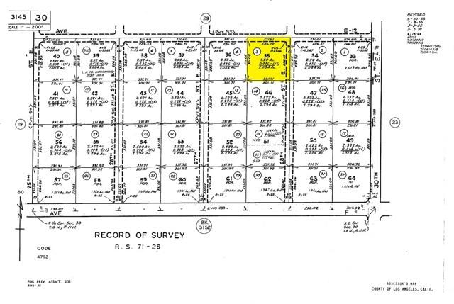 28 Street East and Ave. E-12 Redman, CA 93535 - MLS #: SR17091900