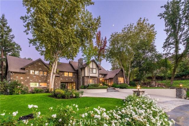 Casa Unifamiliar por un Venta en 29100 Old Mill Creek Lane Agoura, California 91301 Estados Unidos