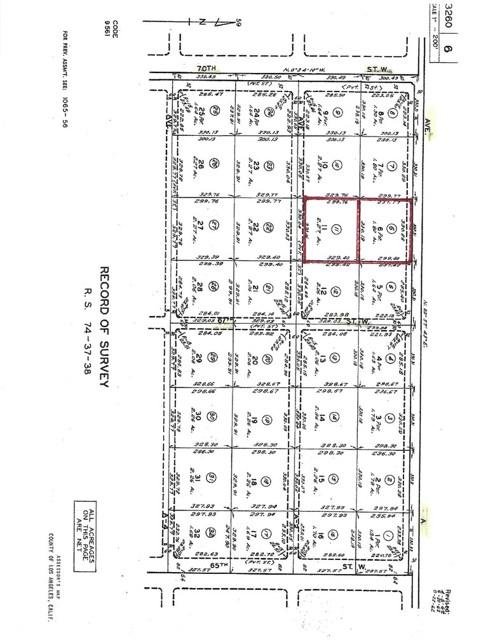 0 Vac/Ave A/Vic 67 Stw Lancaster, CA 93536 - MLS #: SR18079420