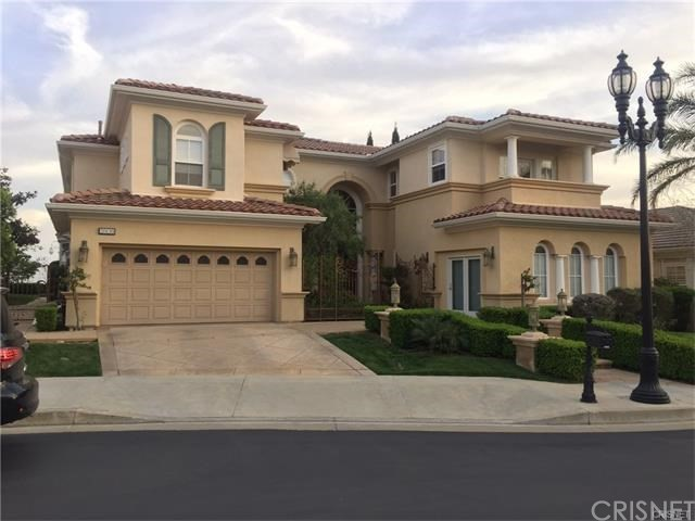 Single Family Home for Sale at 20150 Via Galileo Northridge, California 91326 United States