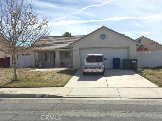 36427 Blacksmith Drive Palmdale CA  93550